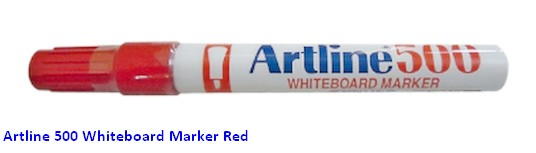 Supplier ATK Artline 500 Spidol Papan Tulis Merah Harga Grosir