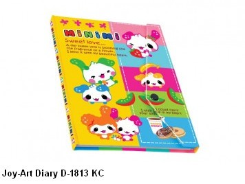 Supplier ATK Joy-Art Buku Diary D-1813 KC Harga Grosir