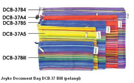 Supplier ATK Joyko Document Bag DCB-37 Bill (pelangi) Harga Grosir