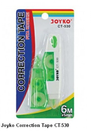 Supplier ATK Joyko Correction Tape CT-530 Harga Grosir