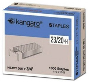 Supplier ATK Kangaro Isi Staples No.23/20-H Harga Grosir